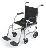 Basic Steel Transport Chair